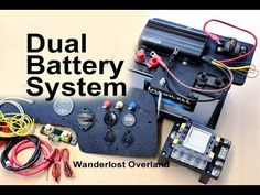 Dual Battery Setup with Detailed DIY Install Truck Bed Camper, Truck Camping, Diy Camper, Camper Van, Dual Battery Setup, Boat Battery, Mitsubishi Pajero, Expedition Vehicle, Car Audio