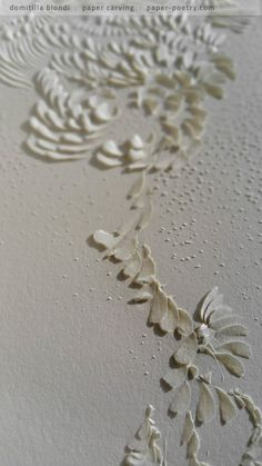 «Quasimodo Remixed» Series - n2 detail | domitilla biondi paper carving  _______ #papercarving #papercut #paperwork #paperpoetry #minimal #basrelief #miniature #white #shadowart #italianartist #japaneseart #harmonia #beauty #spirituality #paperporn #magnifique #light #love #abstract