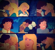 Derek and Odette- The Swan Princess