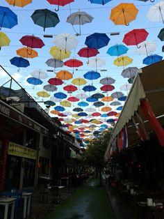 Umbrella street #antalya