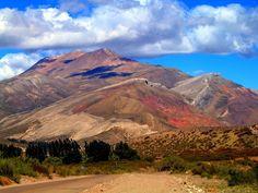 Bardas Blancas Mendoza, Ruta 40 en Cuyo