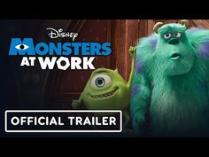 Monsters Inc Characters, Mike And Sully, Billy Crystal, Disney Monsters, Official Trailer, Animation, Youtube, Animation Movies, Youtubers