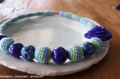 ineseda.blogspot.com #crochet #necklace #silk
