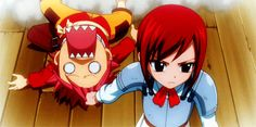 Fairy Tail Everybody knows this little girl is Erza