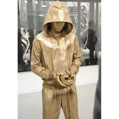 A Marc Quinn sculpture