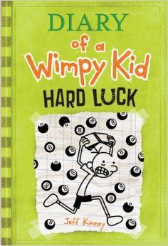 Diary Of A Wimpy Kid Hard Luck Book Cover