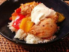 Slow Cooker Paprika Chicken (need to convert these grams to pounds, etc.)