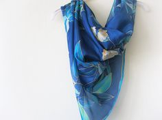 This silk scarf will be made to order. I will ship it within 3 weeks after purchase.  Each of our works is unique, and its impossible completely repeat