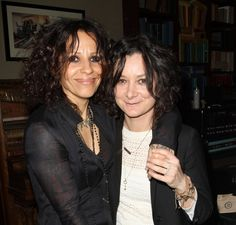 Sara Gilbert and Linda Perry are parents to a baby boy named Rhodes. (Photo)