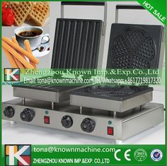 420.03$  Watch here - http://ali0ms.shopchina.info/1/go.php?t=32729510222 - Factory supply double heads mini churro and heart shape waffle machine hot on sale  #magazineonlinewebsite
