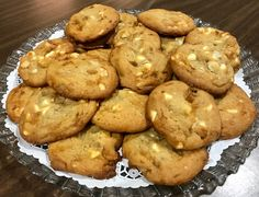 White Chocolate & Macadamia Nut Cookies - Catering by Debbi Covington - Beaufort, SC