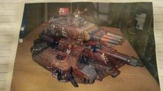 Image of one of my first kit bashes many years ago