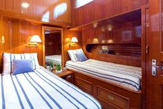 Luxury HERMINA - Motor sailer Check more at https://eastmedyachting.co.uk/yachts/hermina-motor-sailer/