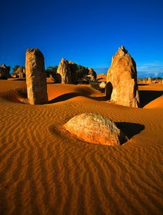 The Pinnacles Western Australia. I want to go see this place one day. Please check out my website thanks. www.photopix.co.nz