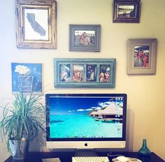 Picture frame office space