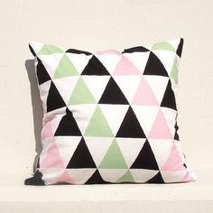 Decorative Pillow Kids Pillows 16x16 Geometric by gridastudio