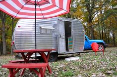 Camping in Michigan - Bungalow 47 style