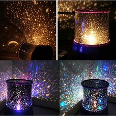 Details About Romantic LED Starry Night Sky Projector Lamp Kids Gift Star Light Cosmos Master