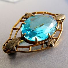 ANTIQUE kt gold edwardian late victorian brooch pin by PartsForYou, $140.00