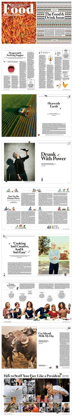 NYT Magazine Food Issue : Drea Zlanabitnig