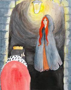 «La princesse au petit pois», histoire que j'ai illustrée pour le site ebookids.com