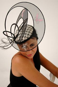 Marilena Romeo   Millinery, Spring racing, Melbourne cup, Designer Hats #millinery #judithm #nybuck