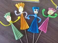 Spring Crafts For Kids, Crafts For Girls, Diy For Kids, Arts And Crafts, Paper Crafts, Cool Diy Projects, Projects To Try, Princess Crafts, Paper Puppets