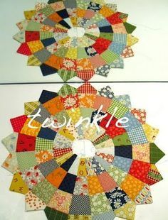 TWINKLE PATCHWORK: Tutorial: dresden plaid con jelly roll