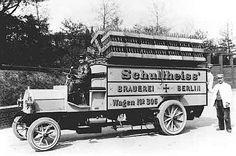 Auslieferungsfahrzeug Schultheiss-Brauerei AG