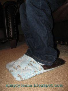 Fusswärmer nähen, Wärmekissen duer die Füße craft.sew.design: Foot Warmer Tutorial