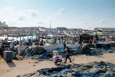 Tema Fishing Port