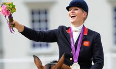 Zara Phillips at the London 2012 Olympic Games. The Queen's granddaughter demonstrates the power of a well-tailored jacket. Photograph: Tom Jenkins