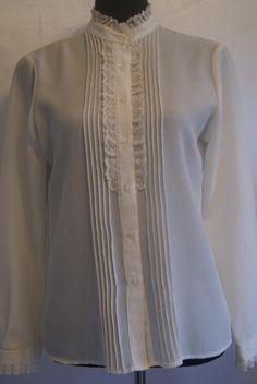 vintage blouses | Vintage Blouses: Floral Vintage Blouse Pattern ...