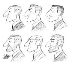 ArtStation - Sketches, Luigi Lucarelli Drawing Heads, Guy Drawing, Character Drawing, Character Illustration, Book Illustration, Character Concept, Character Design, Drawing Tips, Character Sketches
