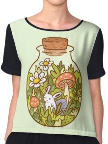 Bunny in a Bottle Women's Chiffon Top
