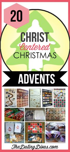 Keep Christ in Christmas with a Christ-Centered Advent Calendar- love these! TheDatingDivas.com