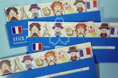 Samolepící bloček Francie - http://www.podsakurou.cz/samolepici-blocky/francie/