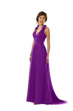 Spring Violet Dress.