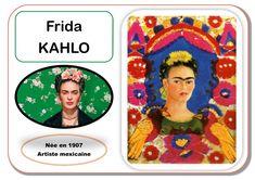 Portraits artiste Frida Kahlo et Mira Schendel chez Kaloo