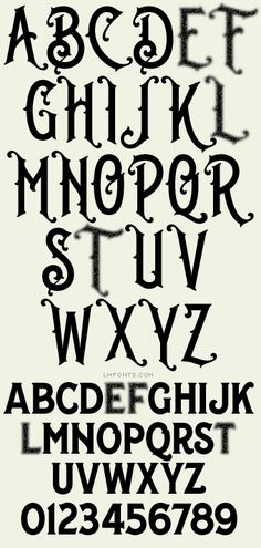 Letterhead Fonts / LHF Whistler / Antique Fonts Calligraphy Fonts Alphabet, Tattoo Lettering Fonts, Hand Lettering Alphabet, Font Art, Graffiti Lettering, Typography Fonts, Signwriting, Creative Fonts, Vintage Typography