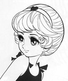石ノ森章太郎「江美子STORY」    I really like vintage manga styled drawings! al;fk