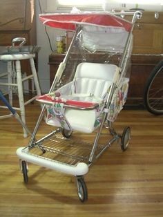 Late 70s or early 80s' baby stroller