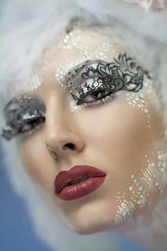 Snow Queen                  Repin via Bridget B
