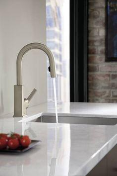 Moen   STO High Arc Bar Faucet   Modern   Kitchen Faucets   Other Metro    Moen Inc.