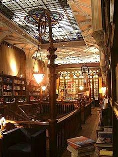 Beautiful bookstore in Uruguay, where books still mean something...