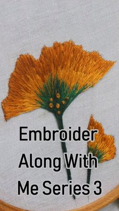 silk ribbon embroidery for beginners Hand Embroidery Patterns Flowers, Embroidery Leaf, Hand Embroidery Videos, Embroidery Stitches Tutorial, Creative Embroidery, Embroidery For Beginners, Hand Embroidery Designs, Embroidery Techniques, Embroidery Supplies