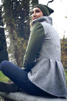 Frauen Jacken, Blazer & Mäntel - Trachten Jacken Mirabell Plummer Blazer, Turtle Neck, Classic, Sweaters, Fashion, Jackets, Cotton, Woman, Derby