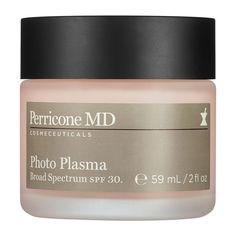 Perricone MD Photo Plasma Broad Spectrum SPF Moisturizer | sephora.com | the plasma line by Perricone MD is amazing, but crazy expensive