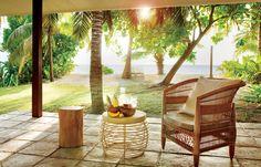 Fabulous island getaway to Seychelles Seychelles Islands, Outdoor Furniture Sets, Outdoor Decor, Island Resort, Garden Bridge, Places To Go, Outdoor Structures, Patio, Beach