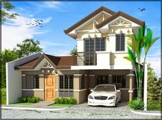 Planning to build your own house? Check out the photos of these beautiful 2 storey houses.This article is filed under: Small Cottage Designs, Small Home Design, Small House Design Plans, Small House Design Inside, Small House Architecture Two Story House Design, 2 Storey House Design, Small House Design, Modern House Design, Simple House Plans, Dream House Plans, Modern House Plans, Modern Houses, Dream Houses